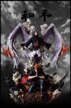 【Pre order】CW&Surge Studio Naruto Peace Pain&Konan 1:7 Resin Statue Deposit