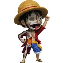 【Pre order】MIGHTY JAXX & JASON FREENY One Piece Half Anatomy Luffy VINYL Figure Deposit(Copyright)