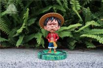 【Pre order】Emoji Studio One Piece Unhappy Luffy Resin Statue Deposit
