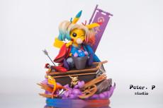 【Pre order】Peter.P Studio DC Comic No.003 Pikachu Cosplay Harleen Quinzel Resin Statue Deposit