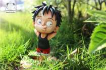 【Pre order】Emoji Studio One Piece Lying Luffy Resin Statue Deposit