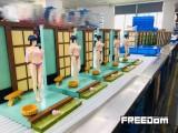 【In Stock】FREEDOMSTUDIO Naruto Hyuga Hinata Bathroom 1/7 Scale Resin Statue
