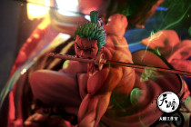 【In Stock】TianTong Studio One Piece Wano Country Roronoa Zoro  Resin Statue