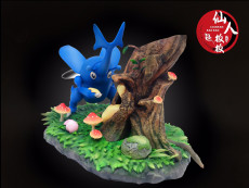 【Pre order】XianRen BAN BAN Studio Pokemon Heracross Resin Statue Deposit