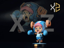 【Pre order】XZ Studios One Piece title page Boxing Chopper Resin Statue Deposit