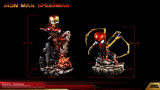 【Pre Order】DNF Toys IRON MAN MK85&IRON SPIDER SD Scale Resin Statue Deposit
