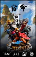 【Pre order】CW&Surge Studio Naruto Predestination Naruto&Jiraya&Namikaze Minato 1:7 Resin Statue Deposit