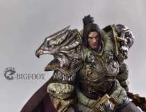 【Pre order】BIGFOOT  Warcraft WOW Varian Wrynn 1/5 Resin Statue Deposit