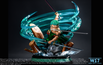 【Pre order】W17 Studio One-Piece Zoro two years after WCF Resin Statue Deposit