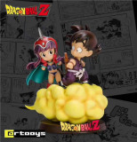 【Pre order】Cartooys Dragon Ball Z Childhood Goku&Chichi Resin Statue Deposit