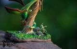 【Pre order】Mecca麦 Studio Pokemon Ecological series Flygon in the Rain Forest Resin Statue Deposit