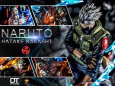 【Pre order】DT Studio  Naruto Resonance Series:Class 7 Kakashi 1:7 Scale Resin Statue Deposit