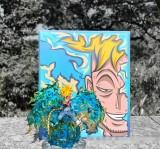 【In Stock】YZ Studio One Piece Yonko White Beard Edward Newgate Family Series Marco WCF Scale Resin Statue