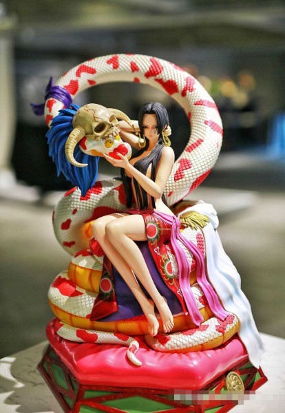 【In Stock】SOUL WING One-Piece Boa Hancock 1/4 Scale Resin Statue (Copyright)