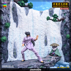【Pre order】JacksDo Saint Seiya Old Master Dohko Five Ancient Peaks Diorama Resin Statue Deposit