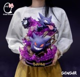 【In Stock】EGG-Studio Pokemon Gastly Haunter Gengar Family ゴース Resin Statue