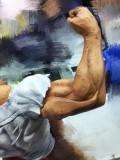 【In Stock】37 LAB Studio My Hero Academia All Might VS Brain 1/6 Resin Statue
