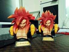 【In Stock】XZ Studio Dragon Ball Gogeta SSJ4 Bust Resin Statue