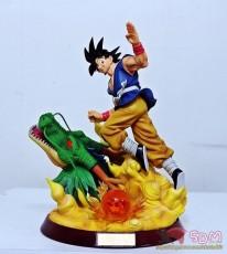 【In Stock】Figure Class Dragon Ball Z Goku Goodbye Shenron Resin Statue