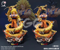 【Pre order】EGG Studio Dragon Ball Z Goku Super Saiyan3 SSJ Resin Statue Deposit