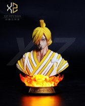 【Pre order】XZ Studios One Piece Sanji Bust Resin Statue Deposit