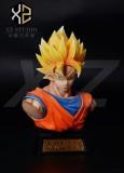【Pre order】XZ Studio Dragon Ball Super Saiyan Goku Bust Resin Statue Deposit