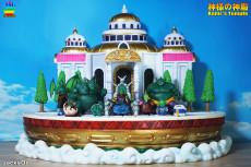 【In Stock】JacksDo Dragon Ball Z Kami's Temple Scene  Resin Statue