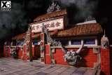 【Pre order】XBD Studio Dragon Ball Z Tenkaichi Budokai てんかいちぶどうかい Base Resin Statue Deposit