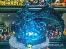 【In Stock】LX-Studio Naruto Kakashi Susanoo Tempestuous God of Valour Resin Statue
