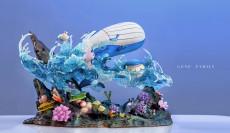 【Pre order】GENE Studio Pokemon Wailord Family Resin Statue Deposit