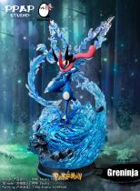 【Pre order】PPAP Studio & EGG Studio Pokemon Greninja ゲッコウガ Resin Statue Deposit