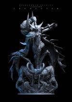 【Pre order】Windseeker Studio Warcraft3/Dota Huntress Maiev Shadowsong 1/4 Resin Statue Deposit
