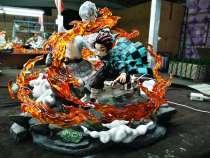【In Stock】 NIREN Studio Demon Slayer Kamado Tanjirou Sun of breathing Resin Statue