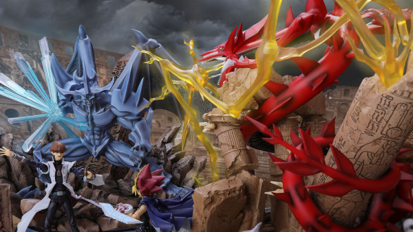 【Pre order】 Fire Phenix Studio Duel Monsters Yu-Gi-Oh 遊☆戯☆王 Series Slifer the Sky Dragon Resin Statue Deposit