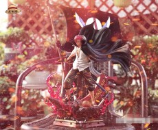 【In Stock】Model Palace One-Piece Red Hair YONKO Shanks Resin Statue