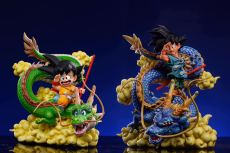 【Preorder】LeaGue Studio Dragon Ball Goku childhood with Shenron WCF Resin Statue Deposit