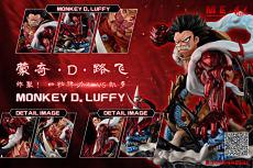 【Pre Order】League Studio One Piece Luffy Gear 4 VS Kaido Wcf Scale Resin Statue Deposit
