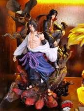 【In Stock】CW&Surge Studio Naruto Samsara Uchiha Itachi&Sasuke 1:7 Resin Statue
