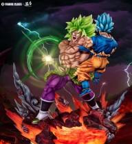 【Pre order】Figure Class Dragon Ball Super Broly VS Goku 1:6 Resin Statue Deposit