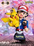 【Pre order】XZ Studio Pokemon Ash Ketchum & pikachu Bust Resin Statue Deposit