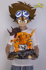 【Pre order】Vitamin studio Digital Monster Greymon Resin Statue Deposit