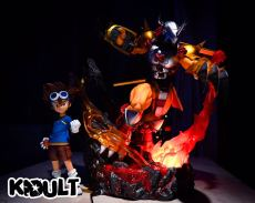 【Pre order】KIDULT STUDIO Digital Monster War Greymon ウォーグレイモン  Resin Statue Deposit