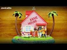 【In Stock】JacksDo Dragon Ball Z KAME HOUSE Scene  Resin Statue