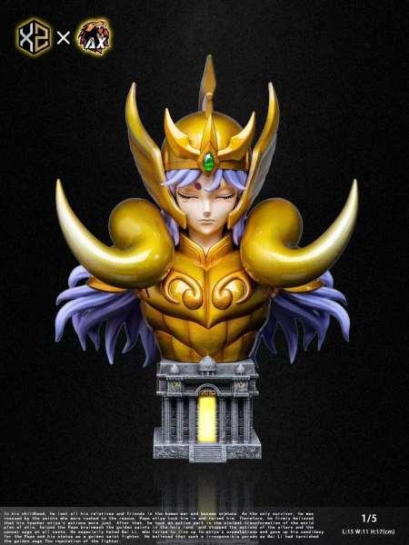 【Pre order】XZ Studio Saint Seiya the Zodiac No.03 Aries Avenir 1/5 Scale Bust Resin Statue Deposit