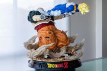 【In Stock】KD Collectibles Dragon Ball Z Vegeta VS Android 19 1/4 Scale Resin Statue
