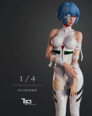 【Pre order】Turning point Studio EVA Ayanami rei 1:4 Scale Resin Statue Deposit
