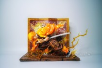 【In Stock】TNT Studio Demon Slayer Kimetsu no Yaiba Agatsuma Zenitsu 1/6 Scale Resin Statue