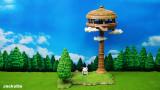 【In Stock】JacksDo Dragon Ball Z Korin Tower & Karin-sama Resin Statue
