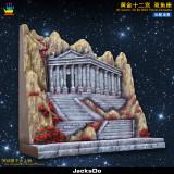 【Pre order】JacksDo Saint Seiya the zodiac constellations JK.Scene-30 XII BOX Zodiac Picses Diorama Resin Statue Deposit