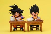 【Preorder】LeaGue Studio Dragon Ball Eating Goku&Vegeta WCF Resin Statue Deposit